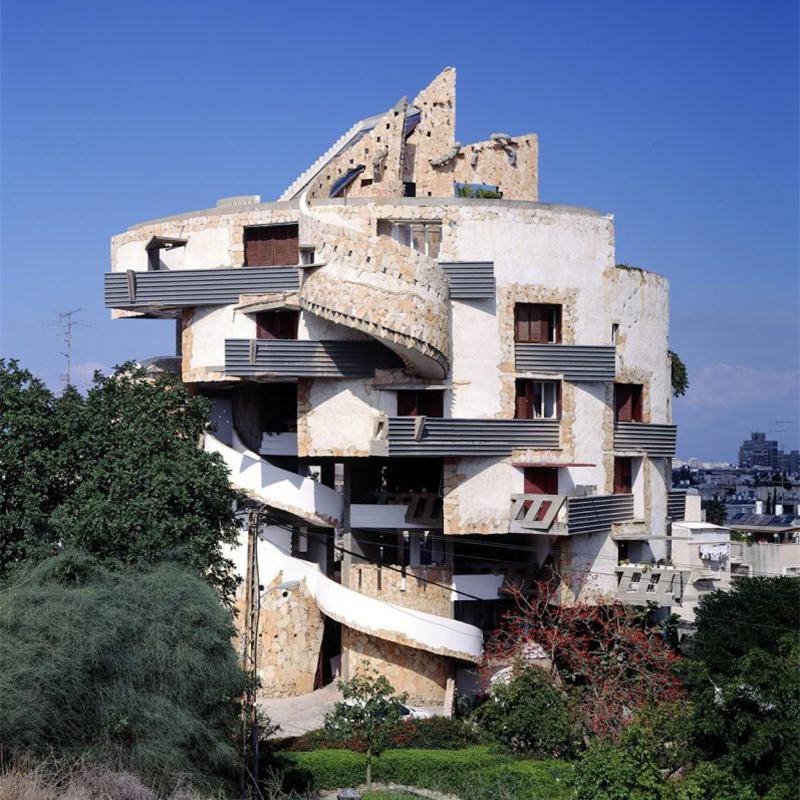 Hidden Architecture » Spiral Apartment House