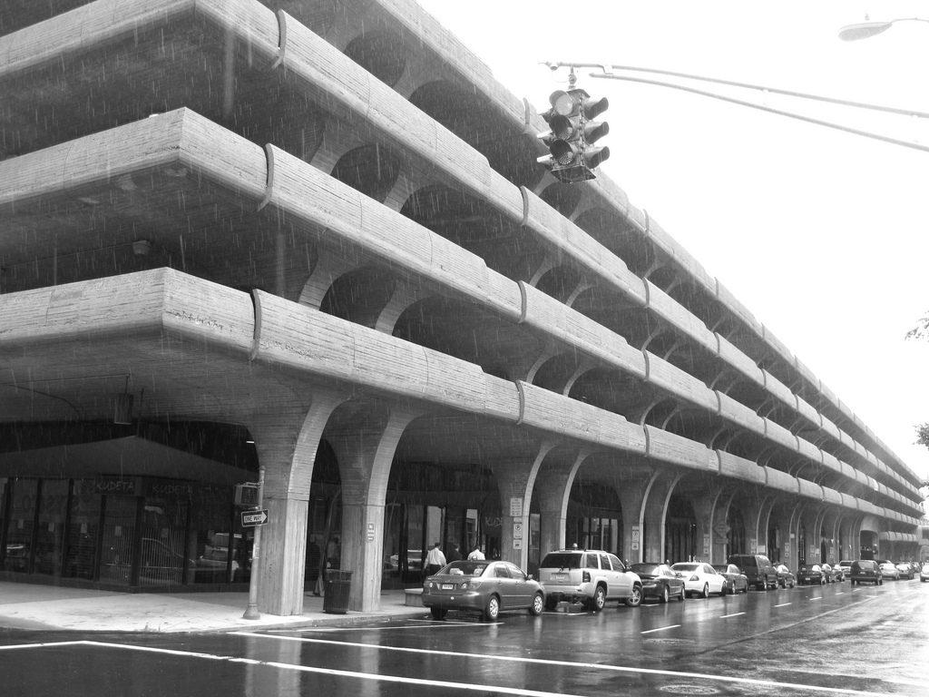 Hidden Architecture 187 Temple Street Parking Garage