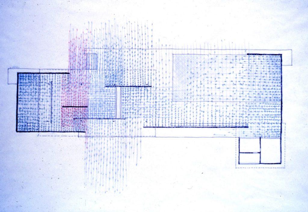 Hidden Architecture  U00bb Barcelona Pavilion Study Drawings