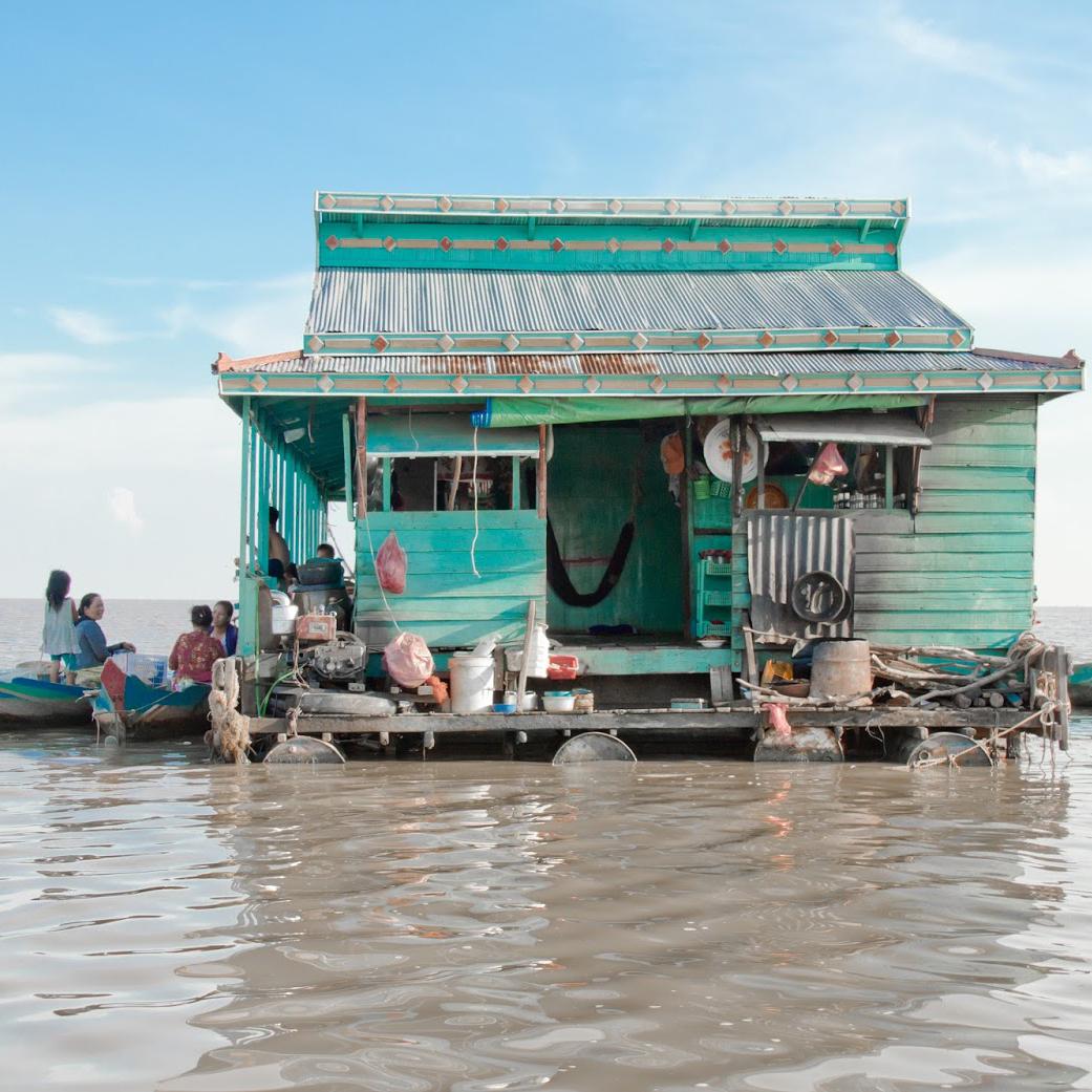 Hidden Architecture Tonle Sap A Poetic Interpretation By