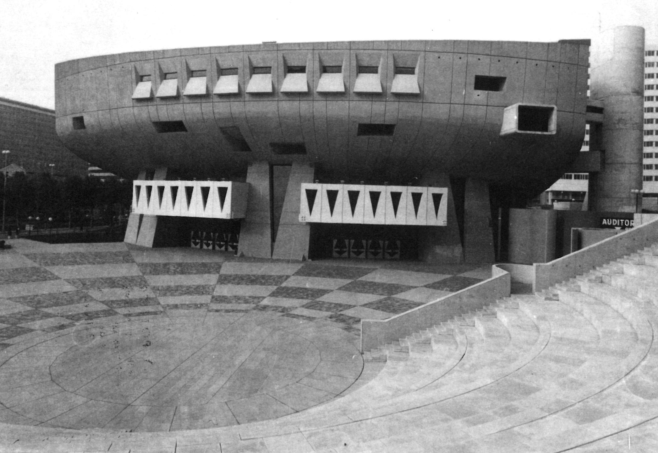 Hidden Architecture » Maurice Ravel Auditorium